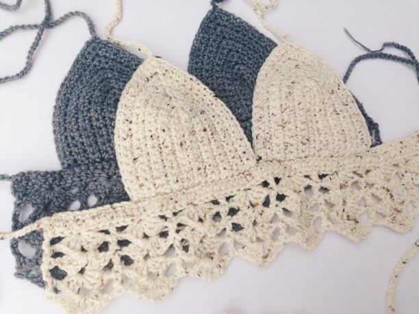 Crochet Patterns Galore - Boho Crop Top