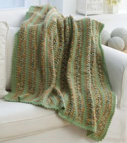 Crochet Country Home Throw