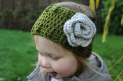 Mini Kids Flower Headwarmer