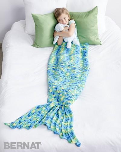 Crochet Patterns Galore My Mermaid Crochet Snuggle Sack