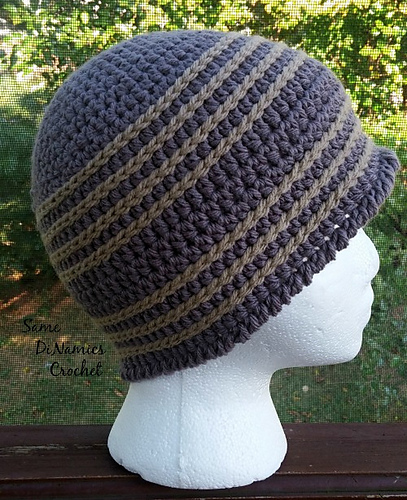 Crochet Patterns Galore Simple Mens Beanie