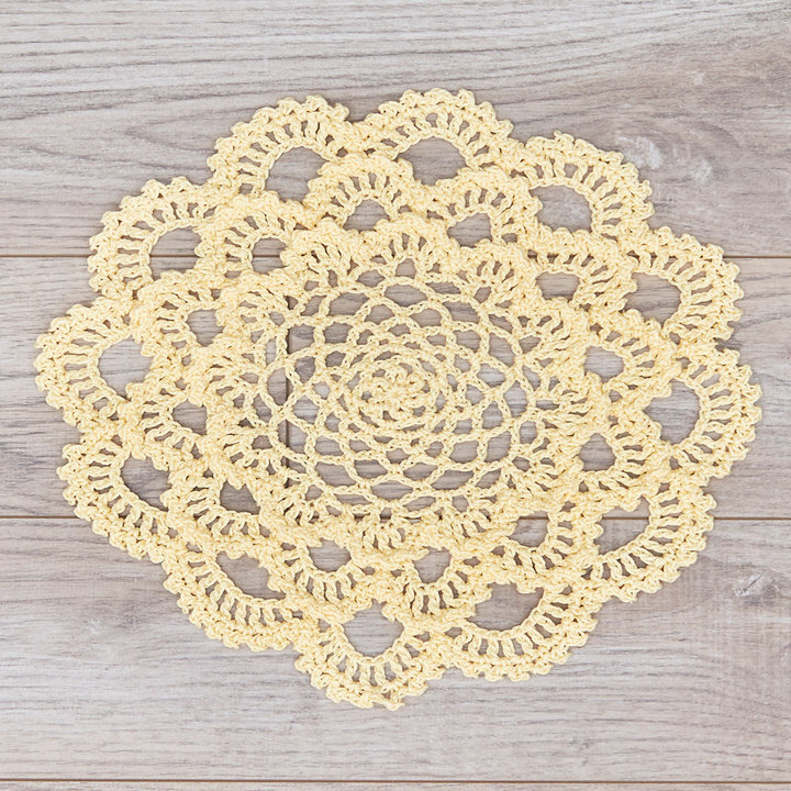 Crochet Patterns Galore Japanese Dahlia Doily
