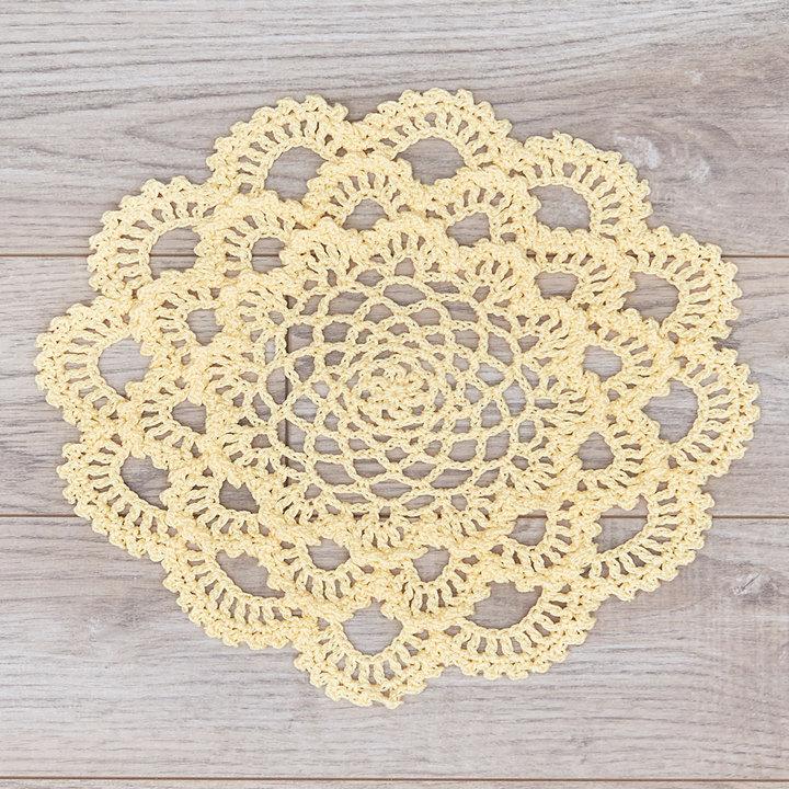 Crochet Patterns Galore - Japanese Dahlia Doily