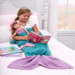 Mermaid Fantasy Blanket