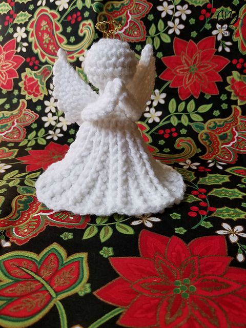 Crochet Patterns Galore Christmas Angel