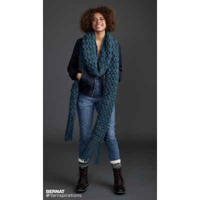 Crochet Patterns Galore Crossing Paths Crochet Super Scarf