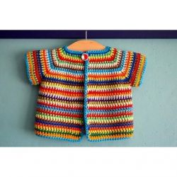 Colourful Baby Vest