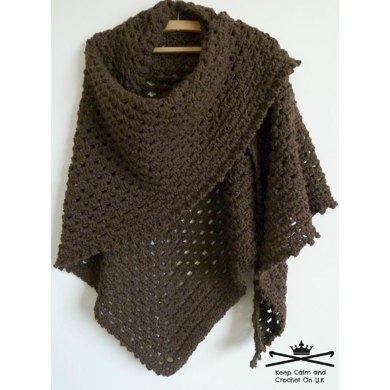 Crochet Patterns Galore - Margaret\'s Hug\' Healing Shawl / Prayer ...