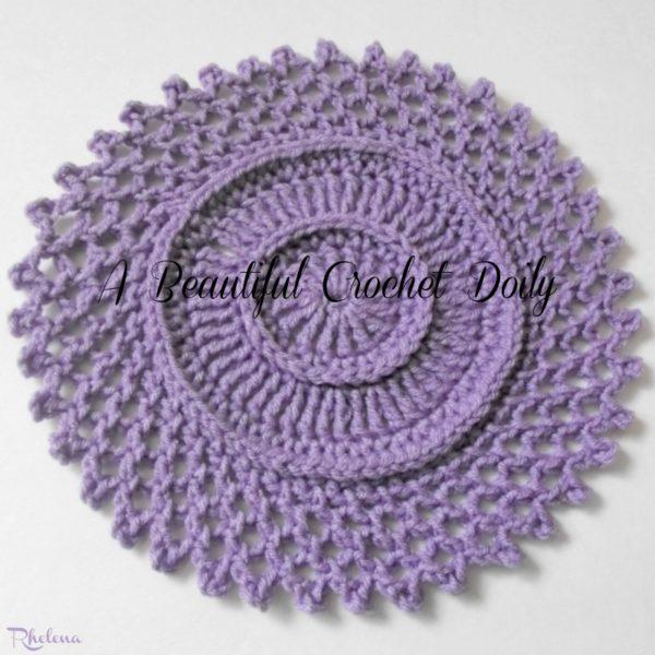 Crochet Patterns Galore Beautiful Doily