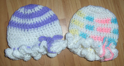 Crochet Patterns Galore - Bevs Colonial Mop Cap