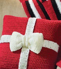 Crochet Patterns Galore - Present Crochet Pillow