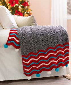 Dashing Holiday Throw