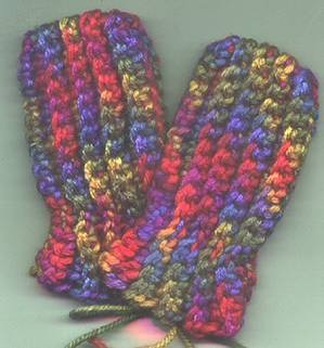 Free Crochet Baby Mittens Pattern : Crochet Patterns Galore - Bevs Incredibly Easy Baby ...