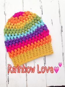 Puff Stitch Toddler Beanie