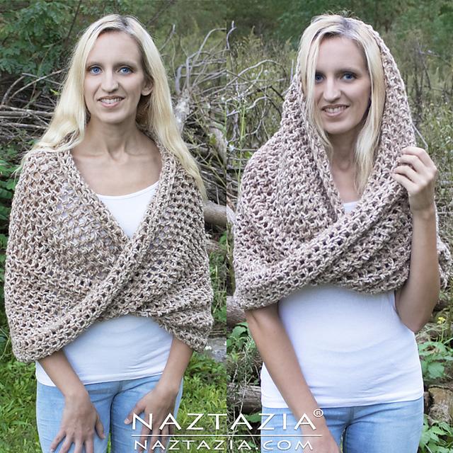 Crochet Patterns Galore - Mobius Shawl Wrap