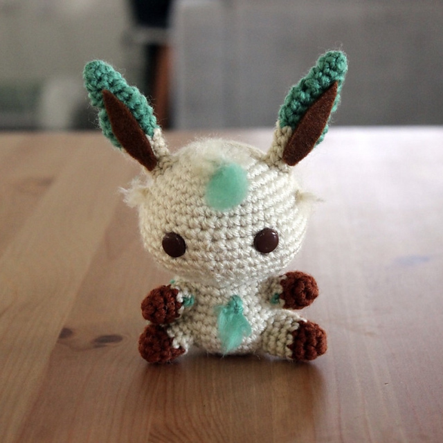 Crochet Patterns Galore Leafeon Amigurumi