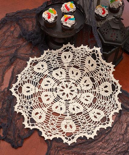 Crochet Patterns Galore Skulduggery Doily