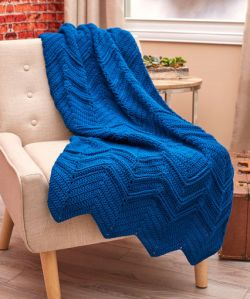 Elegant Ripples Throw