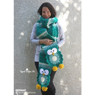 Crochet Patterns Galore Owl Crochet Super Scarf