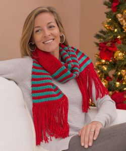 Striped Gift Scarf