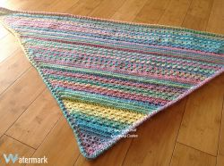 Candy River Shawl