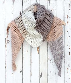 Desert Winds Triangle Scarf