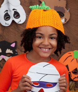 Crochet Pumpkin Hat