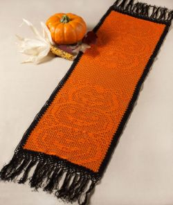 Stacked Pumpkin Table Runner