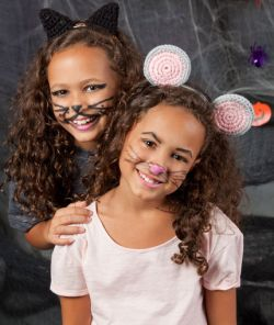 Kitty and Mouse Headbands