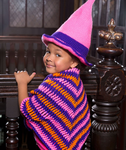 Crochet Patterns Galore Little Witch Hat Shawl