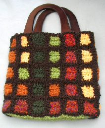 Country Squares Purse