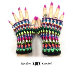Scrap Buster Fingerless Gloves