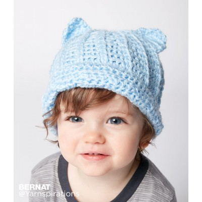 Crochet Patterns Galore Baby Crochet Kitty Hat