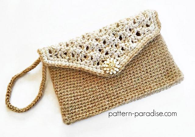 Crochet Patterns Galore Glamour Clutch
