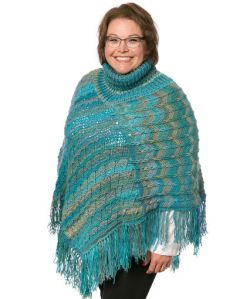 Marly's Turtle Neck Perfect Poncho