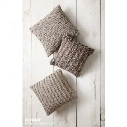 Crochet Pillow Trio