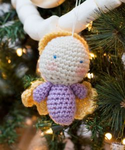 Amigurumi Angel Ornaments