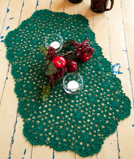 Crochet Patterns Galore Holiday Or Any Day Table Runner