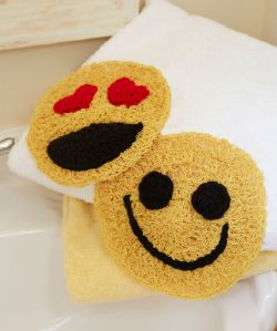 Happy Face Scrubby Emoticons