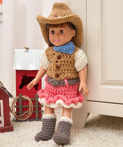 be1e65a01 Crochet Patterns Galore - Dollie Cowgirl Partner