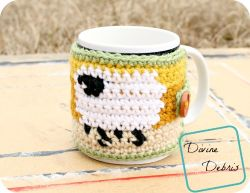 Dancing Sheep Cup Cozy