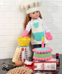 Baking Chef Doll