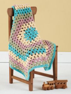 Granny Hexagon Baby Blankie