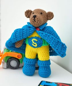 Super Hero Bear Set