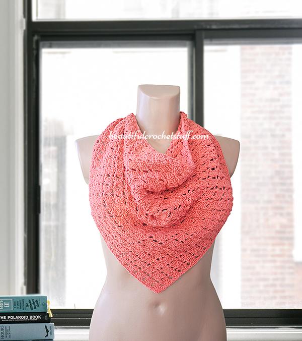 Crochet Patterns Galore Triangle Shawl