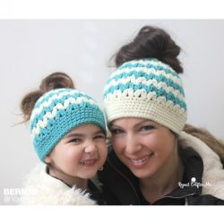 Mommy And Me Messy Bun Hats
