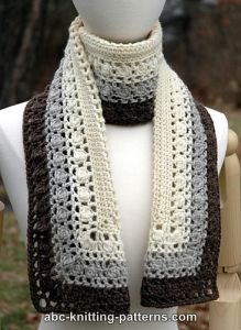Snowy Evening Bobble Scarf
