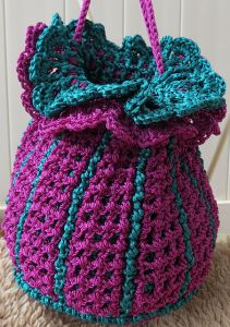 Tulip Drawstring Purse