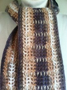 Tiger's Eye Scarf