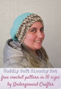 Cuddly Soft Slouchy Hat